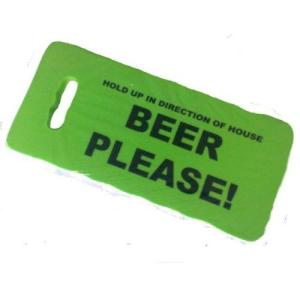 Beer Please, fun garden cushion, knee pad at TAOS Gifts