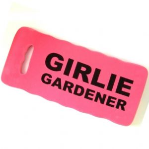 Girlie Gardener pink knee pad novelty gift at TAOS Gifts