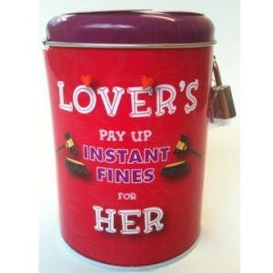 Lovers instant fine tin for her TAOS Gifts