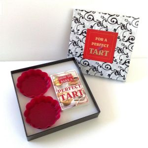 bake a perfect tart, for a perfect tart gift set, silicon cases and recipe book TAOS Gifts