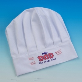 Mad dad Chef Hat Novelty Gift, fun slogans, TAOS Trading Christmas cooking