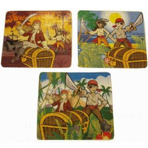 pirates 25 piece mini jigsaws, party bag fillers at taos gifts