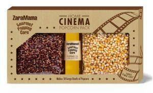 Mixed gift box of gourmet popcorn and popping oil by ZaraMama