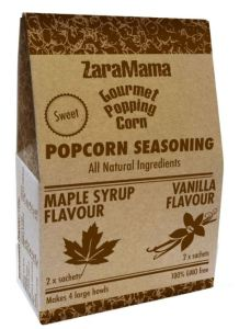 ZaraMamas Gourmet, Popping Corn, Seasoning